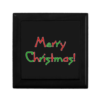 Merry Christmas Wish Jewelry Boxes