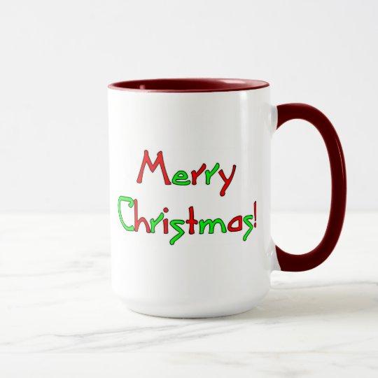 Merry Christmas Wish Mug
