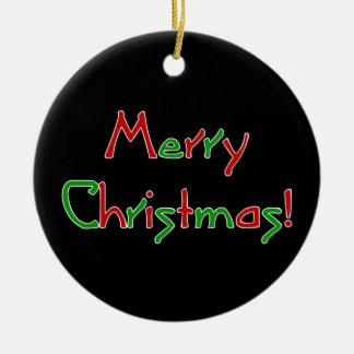 Merry Christmas Wish Christmas Ornaments