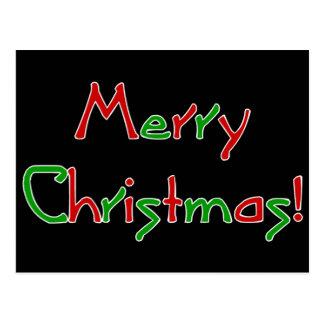 Merry Christmas Wish Postcard