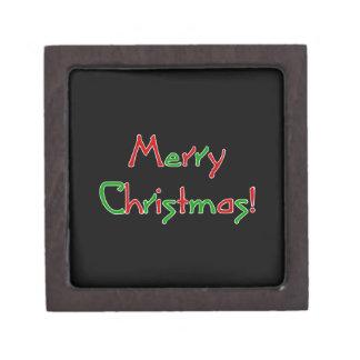 Merry Christmas Wish Premium Trinket Boxes