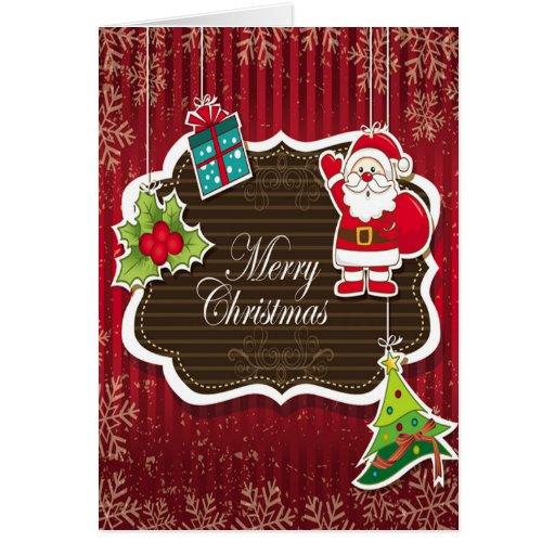 Merry Christmas Wishes Cartão