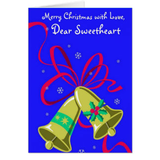 merry Christmas With Love, Dear Sweetheart Cards