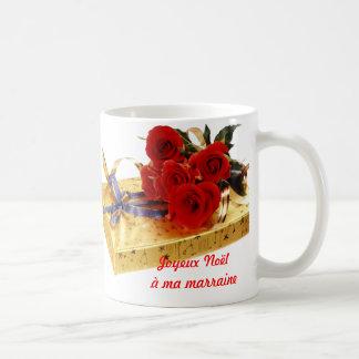 Merry Christmas with my godmother Coffee Mug