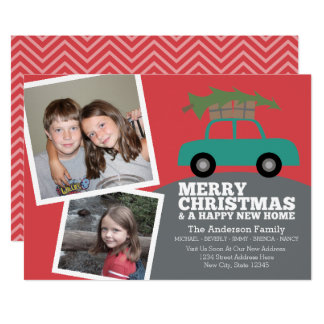 Christmas Moving Invitations & Announcements | Zazzle