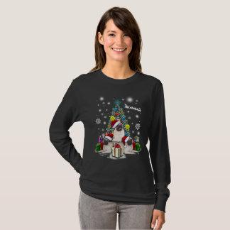 Merry Christmas with Pug Dog Animal T-Shirt