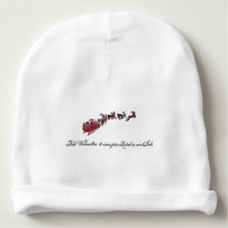 Merry Christmas with Santa Claus Baby Beanie