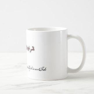 Merry Christmas with Santa Claus Coffee Mug