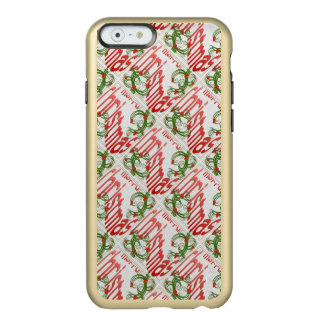 Merry Christmas With Stylized Holly Incipio Feather® Shine iPhone 6 Case