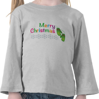 Merry Christmas with Winter Mittens T-shirt