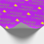 """[ Thumbnail: """"Merry Christmas!"""" Wrapping Paper ]"""