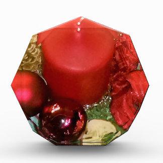 Merry Christmas Wreath Acrylic Award