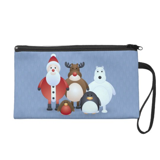 Merry Christmas Wristlet Purse