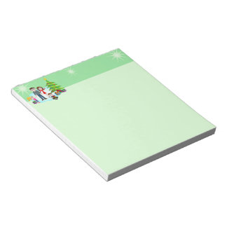 Merry Christmas Xmas Family Small Notepads Memo Note Pads