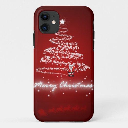 merry christmas xmas santa iphone 5 5s case Phone Case