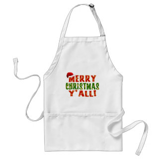 Merry Christmas Y all Apron