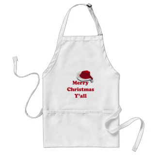 Merry Christmas Y'all! Apron