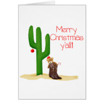 Merry Christmas y'all Card