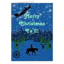 Merry Christmas Ya'll! Card