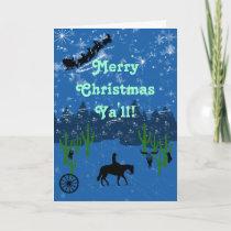 Merry Christmas Ya'll! Holiday Card