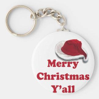 Merry Christmas Y'all! Keychain