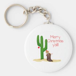 Merry Christmas y'all Keychain