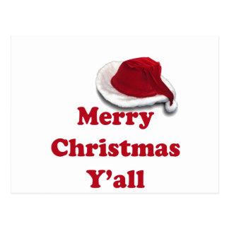 Merry Christmas Y'all! Postcard