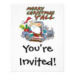 merry christmas yall redneck santa invites