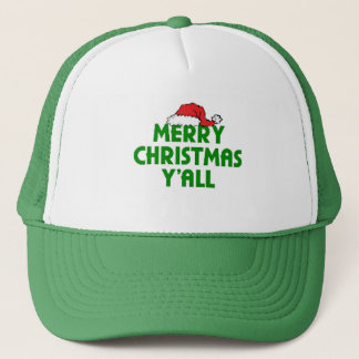 Merry Christmas Yall Trucker Hat
