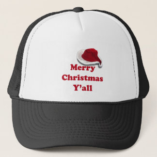 Merry Christmas Y'all! Trucker Hat