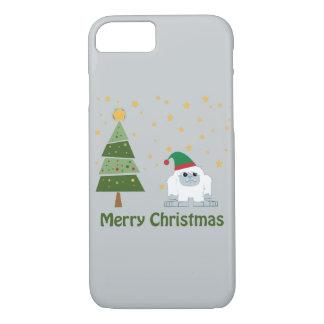 Merry Christmas Yeti iPhone 7 Case