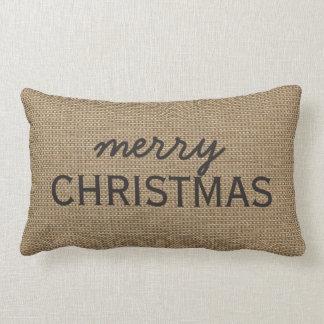 Merry Christmas, You Customize Throw Pillow