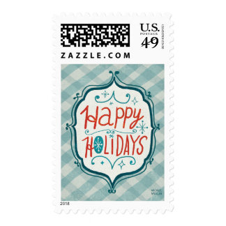 Merry Christmastime Holidays Postage
