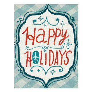 Merry Christmastime Holidays Postcard