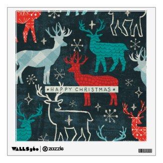 Merry Christmastime Reindeer Wall Decor