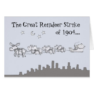 Merry Christmoose Cards