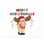 Merry Christmoose Christmas Gift Post Cards