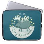 Merry Christmoose Laptop Sleeves