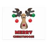 Merry Christmoose! Postcard