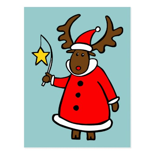 Merry ChristMoose Postcard