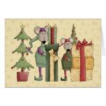 Merry Christmouse Christmas Card