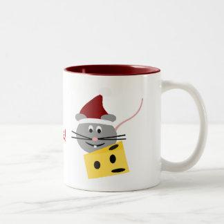 Merry Christmouse Christmas Mouse Coffee Mug