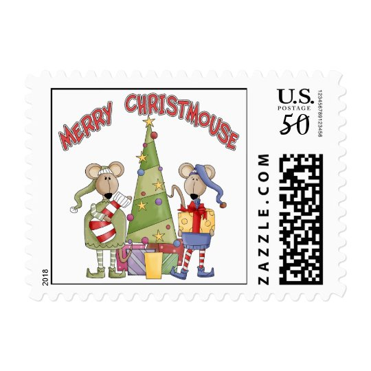 Merry Christmouse Postage