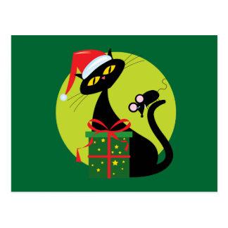 Merry Christmouse Postcard
