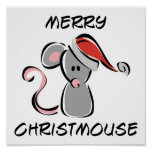 Merry Christmouse Poster