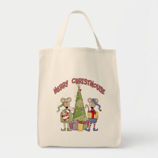 Merry Christmouse Tote Bag