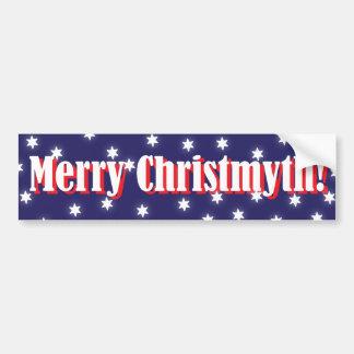 Merry Christmyth Bumper Sticker