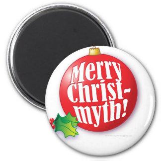 Merry Christmyth! 2 Inch Round Magnet