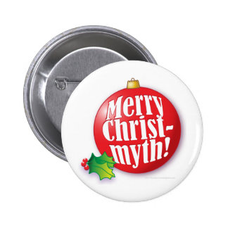 Merry Christmyth! Pinback Buttons