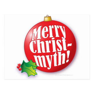Merry Christmyth! Postcard